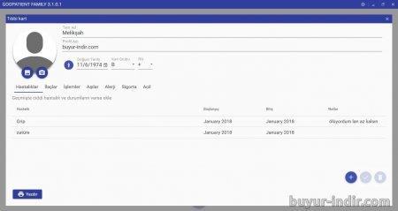 GooPatient Family Edition v3.1.0.1 Türkçe