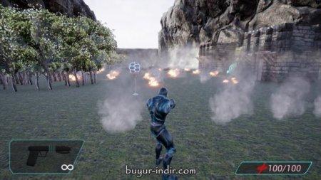 Cyborg Invasion Shooter