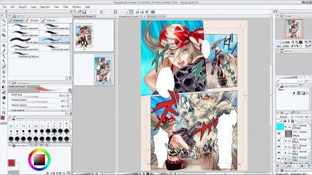 Manga Studio EX v5.0.4 + İçerik Paketi
