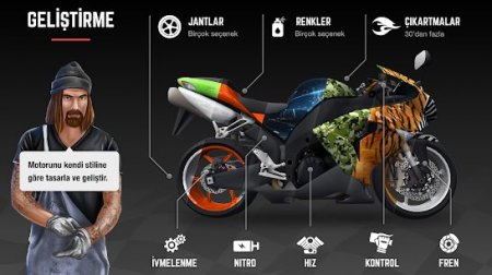 Racing Fever Moto v1.4.0 Para Hileli APK
