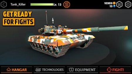 Iron Tank Assault v1.1.34 Para Hileli APK