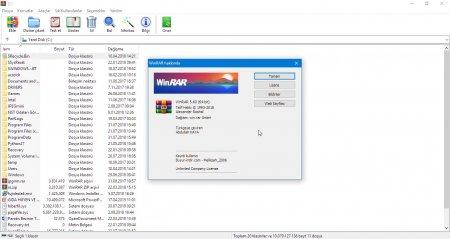 WinRAR v5.60 Türkçe Katılımsız