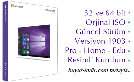 windows 10 pro 64 bit iso indir